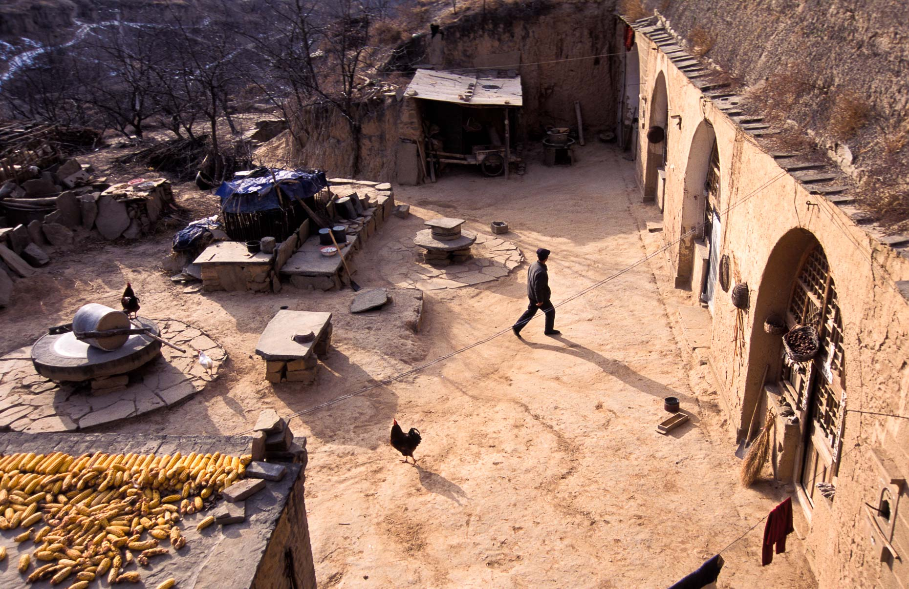 The Cave Dwellers of Shaanxi Province